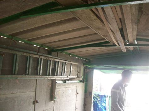Asbestos Removal Garage Roof by Removal Small Garage Roof Concrete Asbestos Tiles