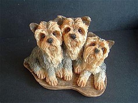 yorkie figurine terrier ornament sherratt and terriers