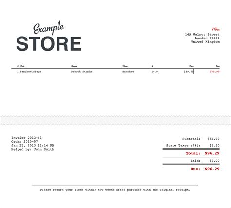 receipt of purchase template order or sales receipt template sle for ms word or pdf
