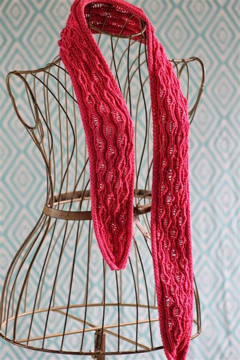 knitting pattern drop stitch scarf balls to the walls knits vertical drop stitch scarf