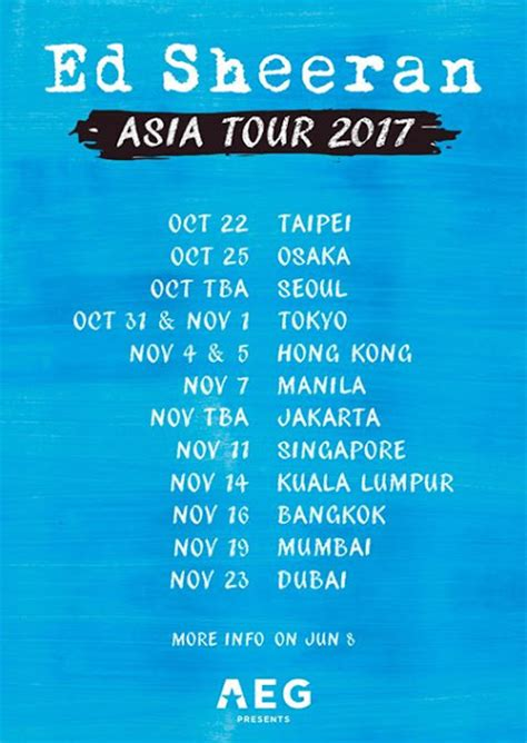 ed sheeran cancel jakarta concert ed sheeran is coming to manila for divide world tour 2017