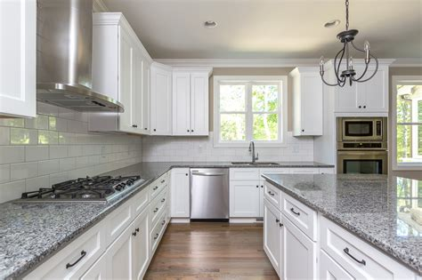 kitchen renovations using gray and white glenview new home construction chatham county stanton homes