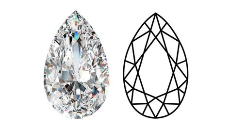 pear stone shape