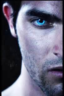 hale eye color blue derek hale wolf werewolves image