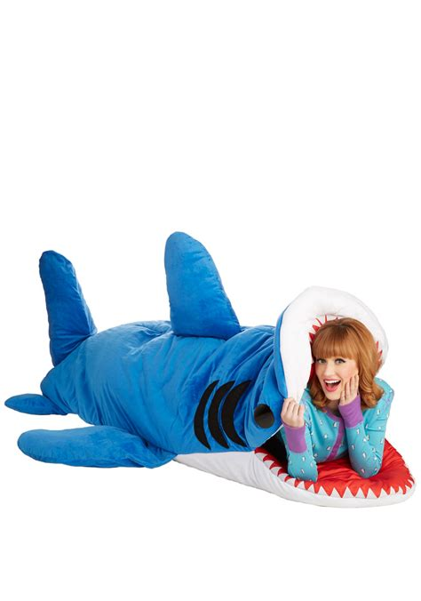 shark sleeping bag sea nic adventures sleeping bag in shark mod retro