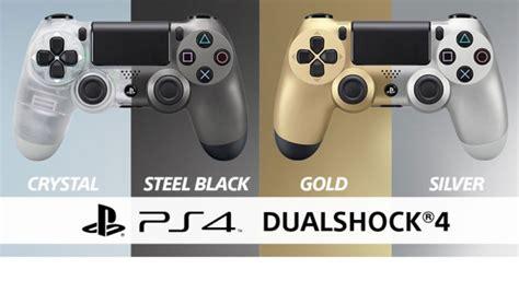 Ps4 Dualshock 4 Wireless Controller Steel Black 1 dualshock 4 wireless controller in und steel black ab juli erh 228 ltlich gold und silver