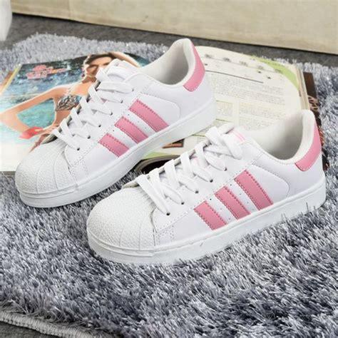 shoes adidas adidas shoes adidas superstars adidas supercolor pink superstar wheretoget