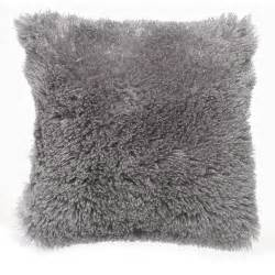 Faux Leather Armchairs Wilko Faux Mongolian Cushion Grey 43 X 43cm At Wilko Com