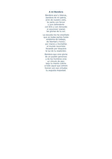 acrostico de mi bandera roja y blanca poema bandera