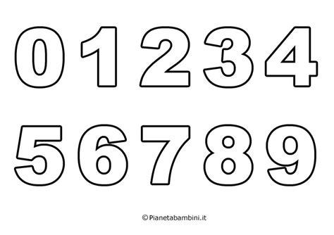 lettere e numeri per bambini numeri da stare e colorare jl56 pineglen