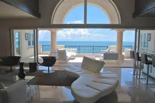 living rooms ocean