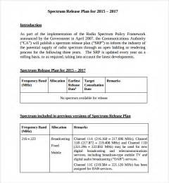 release plan template sle release plan template 7 free documents in pdf