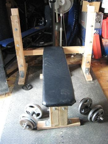 makeshift workout bench homemade weight lifting bench