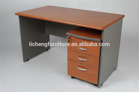 study desk attachable drawers drawers wooden table mdf office table with mobile cabinet