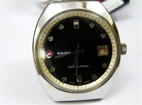 Cermin Polos s treasure chest of time pieces authentic vintage rado marco polo gents wristwatch sold
