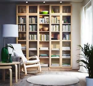 Modern Home Library b 252 cherregal quot billy oxberg quot von ikea bild 8 living at