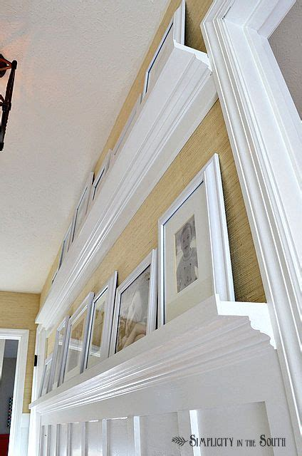 1000 ideas about gallery wall shelves on