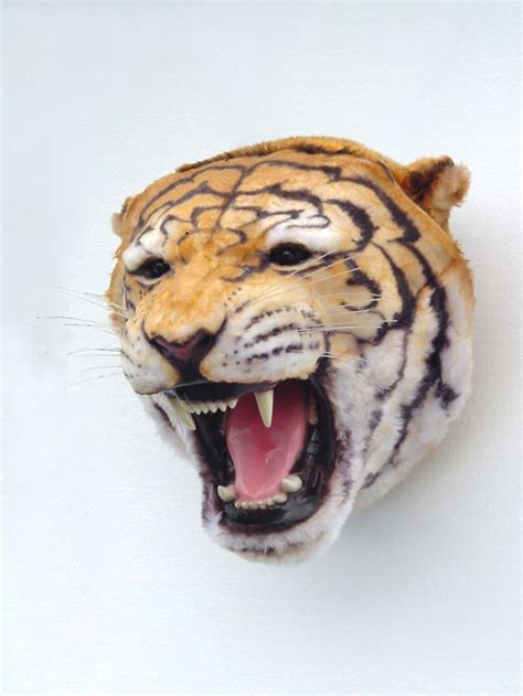 Tiger Decor pop decoration animals mounted heads tiger