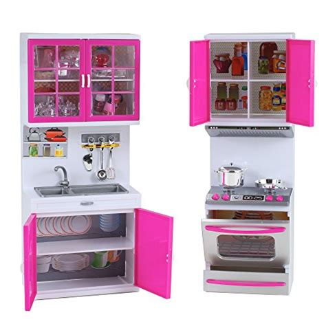 modern kitchen mini playset w lights and sounds