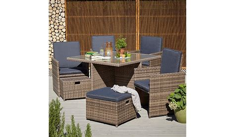 borneo 9 cube dining set home garden george at
