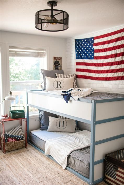 americana bedroom kids space boys americana room nesting with grace