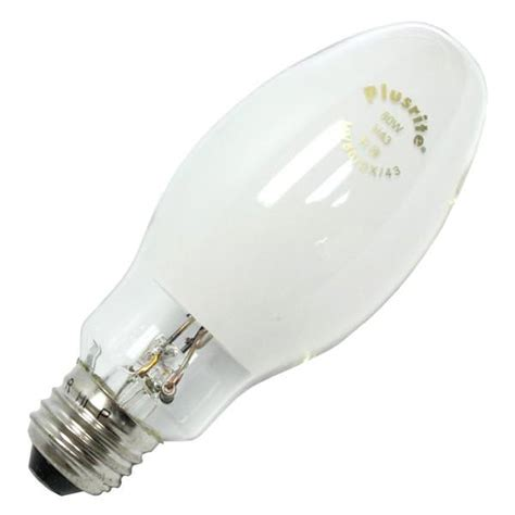 Lu Mercury 80 Watt plusrite 02311 mercury vapor light bulb