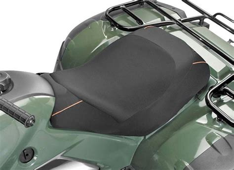 atv seat cover material deluxe atv seat cover black contemporary outdoor