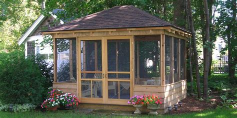 screen gazebo image gallery screened gazebos
