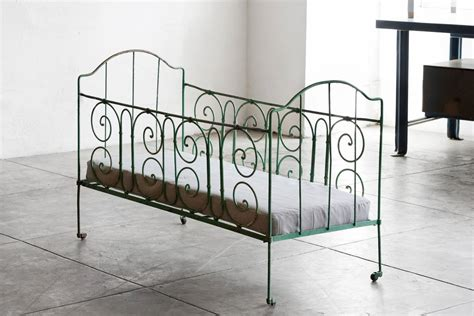 antique wrought iron baby crib at 1stdibs