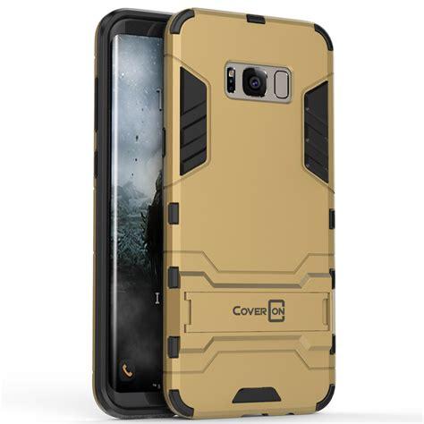 coveron for samsung galaxy s8 plus hybrid stand armor slim phone cover ebay