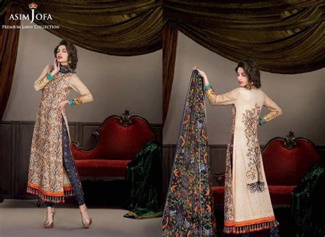 Premium Dress Part 1 asim jofa premium lawn magazine 2013 new fresh fashion
