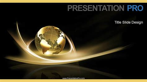 Widescreen Powerpoint Templates Global Swirls B Widescreen Powerpoint Template Background In Global Powerpoint Ppt Slide Design