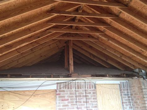 how to attach a patio roof to an existing house how to fix this patio gable roof the hull