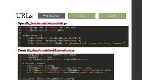 django quickstart tutorial django rest framework
