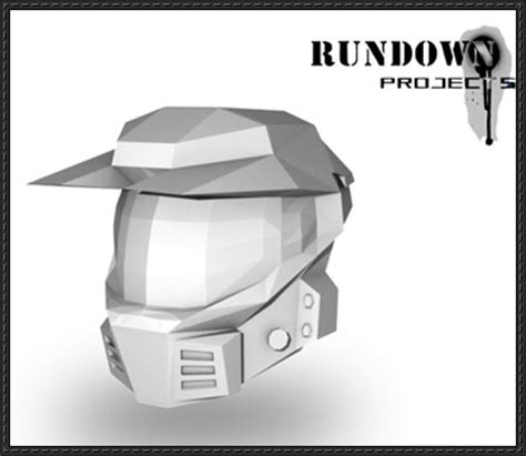 Halo Papercraft Helmet - papercraftsquare new paper craft halo v