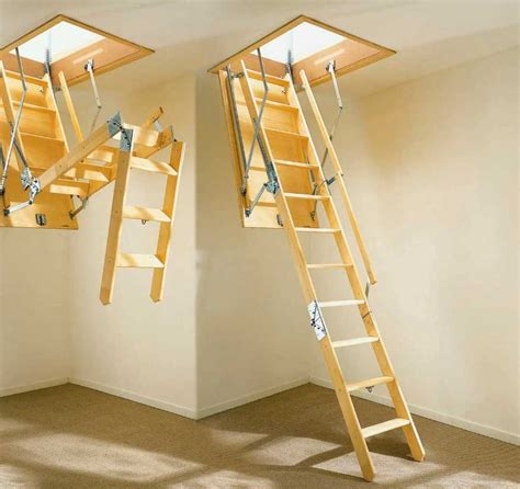 pull down attic stairs ideas the best way to make your