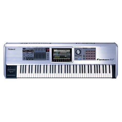 Keyboard Roland G7 Roland Fantom G7 Keyboard Workstation At Gear4music Ie