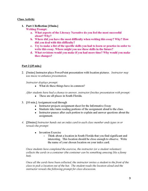 How To Write An Essay Plan For by Unit 2 Informative Essay The Inside Me