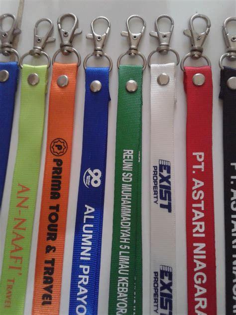 Produk Tali Id Card produksi tali id card name tag pin promosi