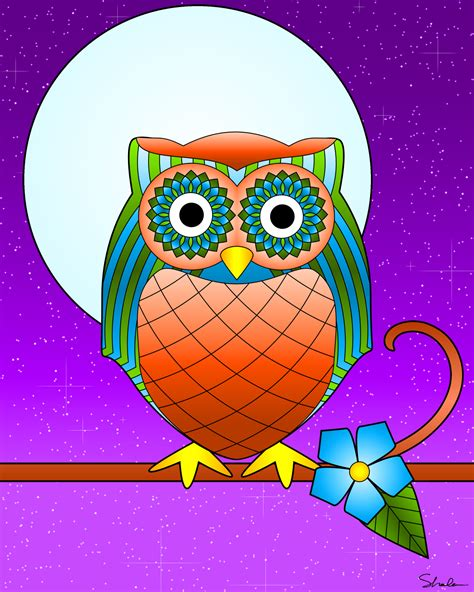 Pictures Of Owls To Color by Don T Eat The Paste Owl Coloring Page