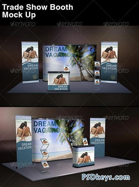 exhibition stand design mockup free download trade show display mock up 8603191 187 free download