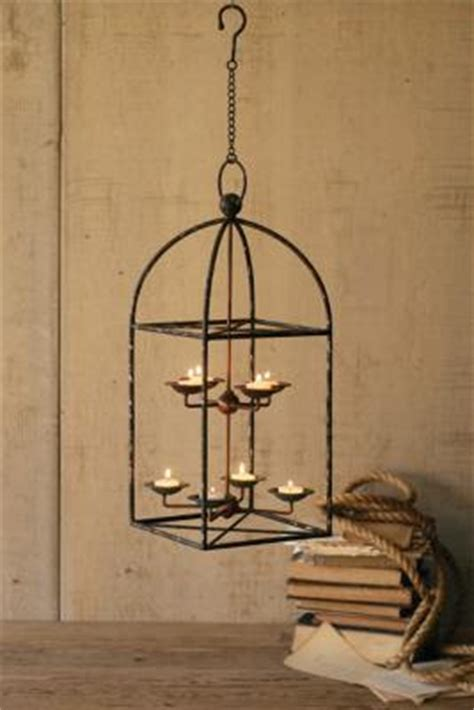 farmhouse musings  rustic iron candle chandelier