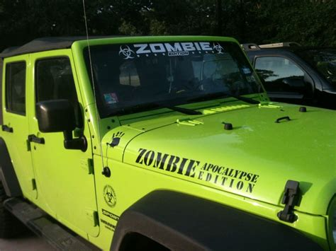 jeep wrangler zombie apocalypse edition zombie edition jeep for my jeep pinterest