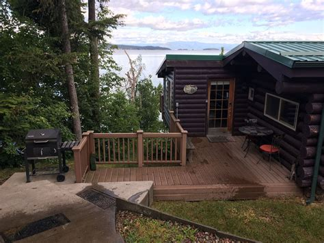 Flathead Lake Montana Cabin Rentals by Restored 1940 S Resort Cabin On Flathead Lake Vrbo