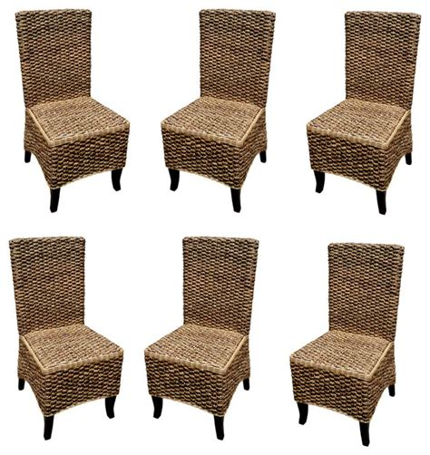 Cheap Wicker Dining Chairs Mahogany Seagrass Dining Chair Set Of Pcs Contemporary And Dining Room High Chair Cheap Rattan