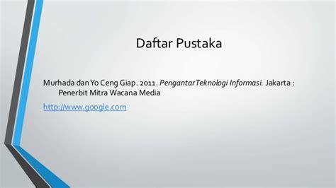 Pengenalan Teknologi Komputer Dan Informasi Penerbit pengenalan teknologi informasi part 1