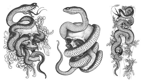 skulls snakes amp the flower of death nine mag online