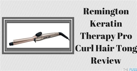 photo diode therapy hair review remington keratin therapy pro curl hair tong review the fuss