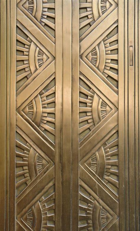 art deco pattern pattern art deco metal door computing library services