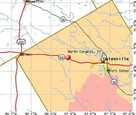 coryell county texas map coryell texas tx 76566 profile population maps real estate averages homes